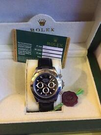 Rolex Daytona with leather strap