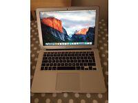 "MacBook Air 13"" early 2014 (1 years AppleCare Warranty)"