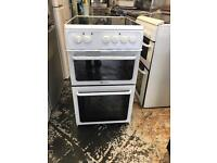 "Hotpoint ceramic cooker electric 50"" cm"