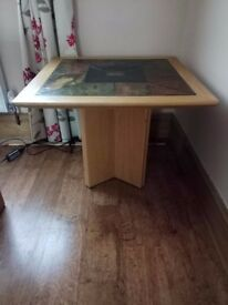 Lamp Table African slate