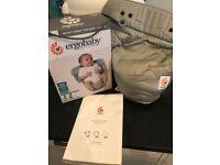 Ergobaby Easy Snug Infant Insert, Original Grey, Brand New!