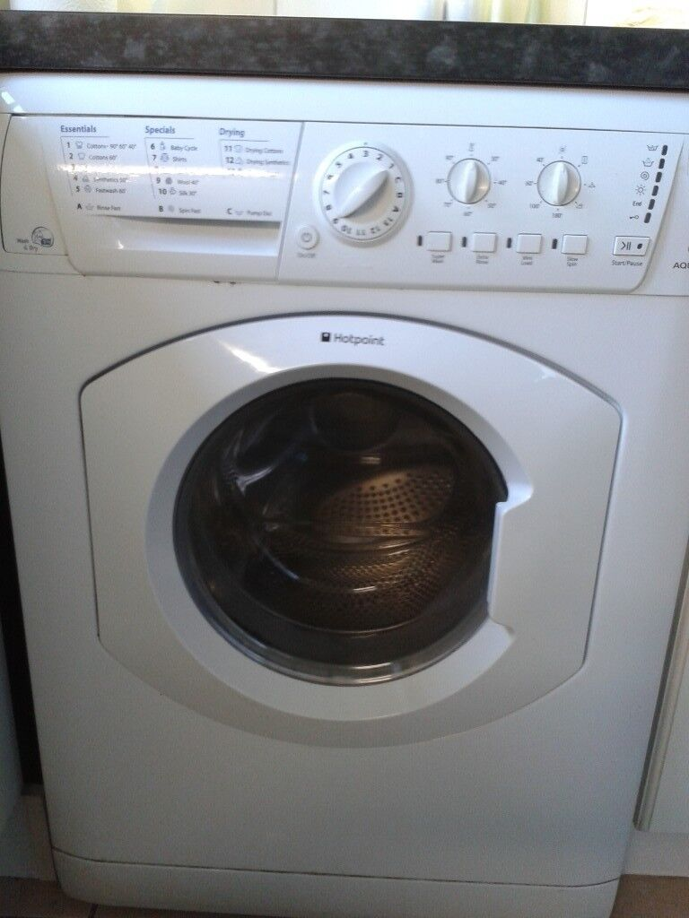 Hotpoint Aquarius WDL540P Washer/Dryer 7kg 1400rpm spin