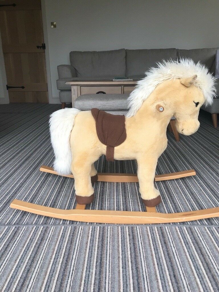 Steiff Franzi Riding Pony (rocking horse) - excellent condition, barely ridden