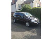 Vauxhall Zafira 1.6, 7 seater 10mot