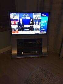 Panasonic 42' tv and stand