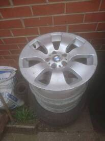 Bmw 5 stud alloy wheels