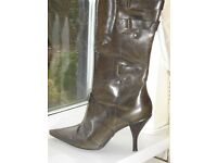 Mode in Pelle New Size 6 Boots