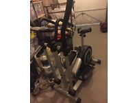 Roger Black cross trainer and exercise bike