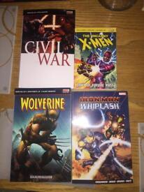 Graphic novel/comic collection x12