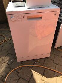 Beko dishwasher, excellent condition, 15 months old