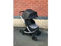 Mama's & Papa's Solo City Pushchair in Black Chrome