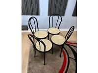 Bistro Cafe Style Chairs (Set of Four)