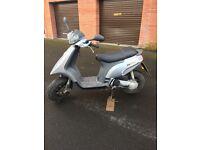 50cc Piaggio Vespa scooter