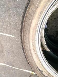 P275/45R20 X4 BRIDGSTONE DUELER RUN FLAT H/L 110H USED FOR SALE
