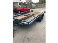 Car trailer/transporter 14ft blue line. NOT I for Williams