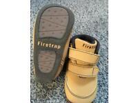 Baby boys firetrap pram shoes size 0