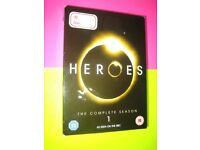 Heroes DVD's Job Lot Season 1 Season 3 Season 4 {18 discs}