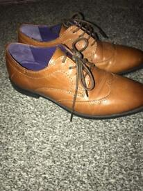 Boys brown shoes from next size 13