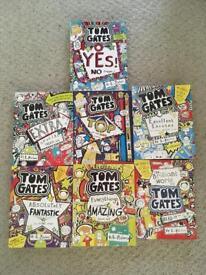 7 Tom Gates children's books