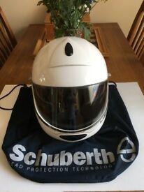 Motor Cycle Helmet - Schuberth Flip Face - Size 61