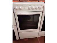 GLEN 50cm Electric White Cooker, oven and grill , for sale ,