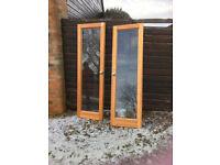 Glass/Pine Doors