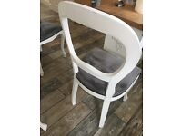 Shabby chic French table x 4 chairs
