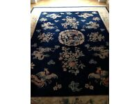 LARGE PERSIAN ROYAL BLUE RUG
