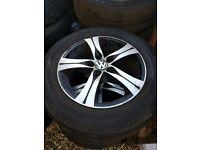"""vw t5 transporter 17"""" alloy wheels"""