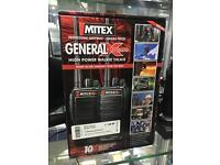 Mitex General Xtreme Walkie Talkies twin pack - new