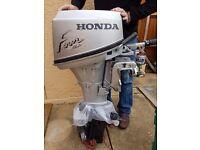 Honda 8hp outboard.