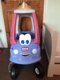 Little Tikes Fairy Cozy Coupe Car
