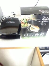 George foreman Fat reducing grill - compact 2 portion grill