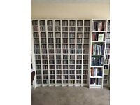 Seven Ikea CD Towers in very good condition