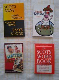 4x Scottish Language Books (bundle)