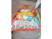 Bahy play mat and arch.