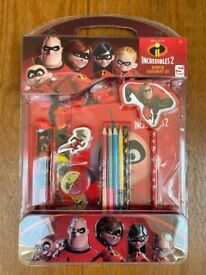 Incredibles 2 stationary set (6 available)
