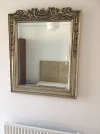Bronze/Gold coloured mirror