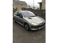 Peugeot 206 1.4, Low Miles. Cheap bargain, not clio Corsa golf 207 Astra.