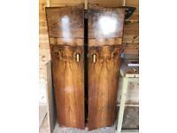 Vintage Walnut Veneer Wardrobe - Free Delivery