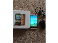 HTC One M8 Gold mobile phone