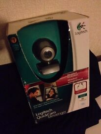 Logitech webcam - boxed