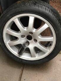Peugeot 206 gti Alloy wheel