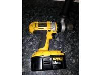 Dewalt drill and hammer drill