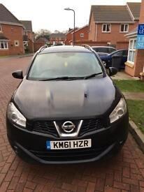 Excellent Condition Nissan Qashqai +2 DCI N-TEC (7 seater with reverse camera, sat nav, Bluetooth)