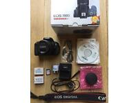 CANON EOS 700D with 18-55mm lens with EXTRAS