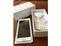 Brand new boxed, unlocked iPhone6 64GB Silver and White