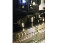 Prestige 4 piece sauce pan set 18/10 stainless steel