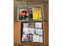 Guitar magazines and CDs