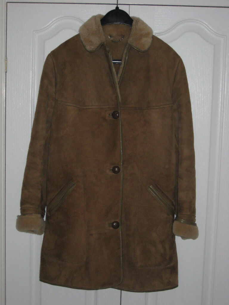 Superb Vintage Sheepskin Coat By OAKLEAF | in Lincoln ...